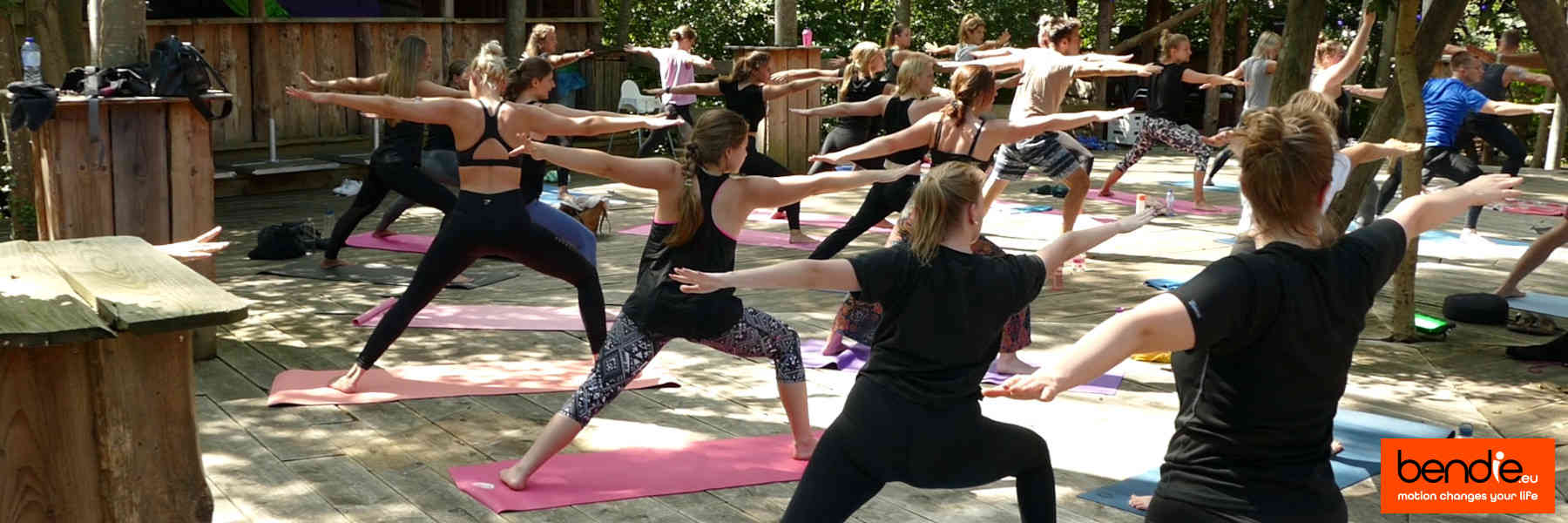 Yoga in Leeuwarden bij Bendie. Virabhadrasana 2