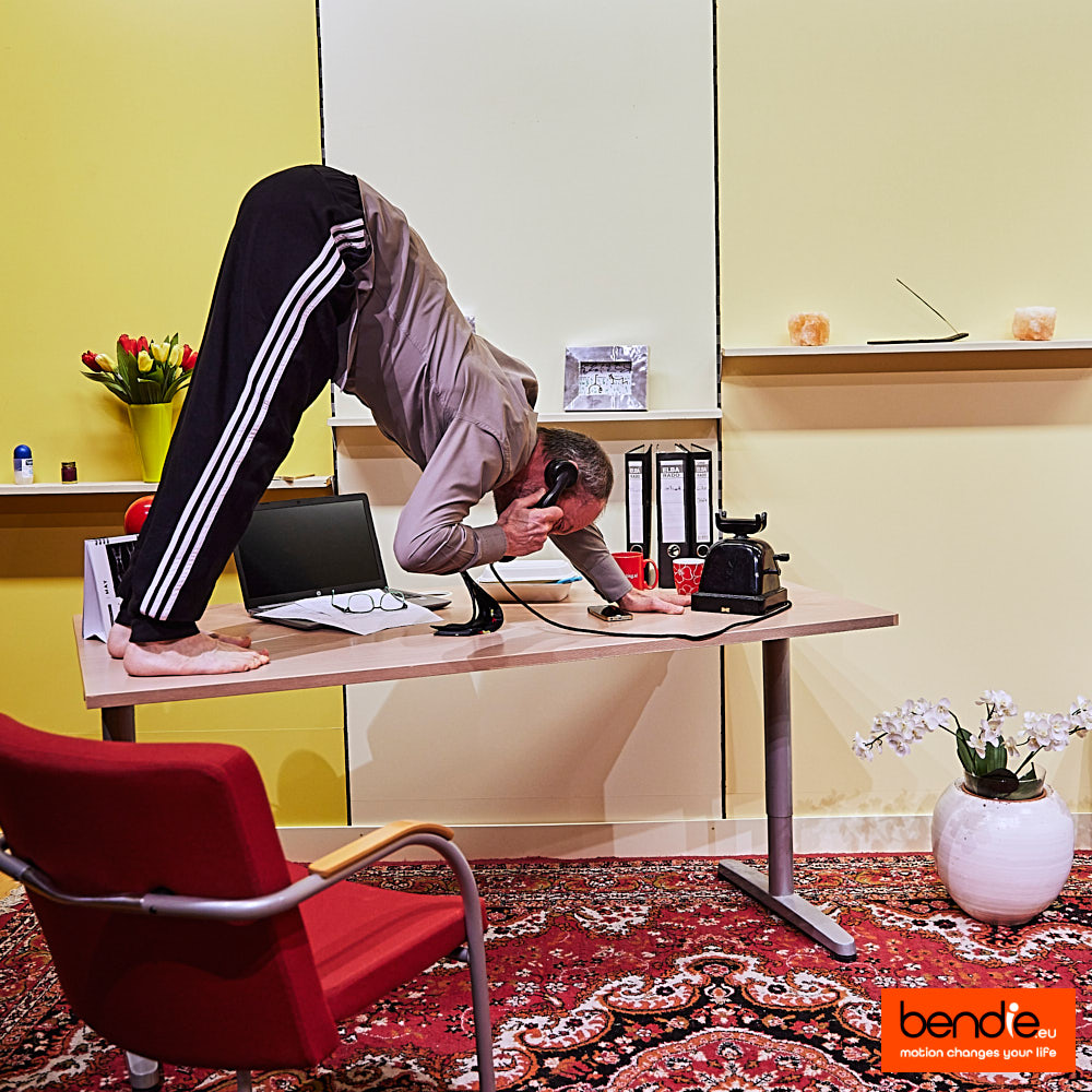 Kwartiertje stretch workout thuis kantoor