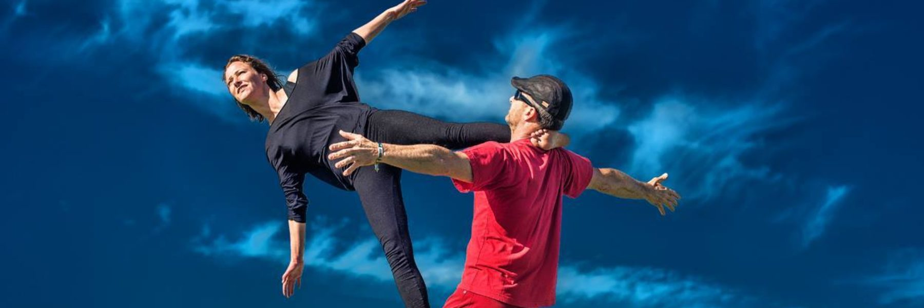 Partner yoga en acrobatiek Groningen Friesland